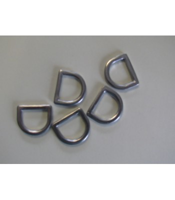 DR17A Alloy D Ring 17mm