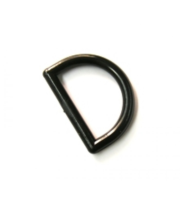 DL12 BKN Lightweight 12mm D ring