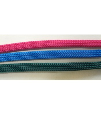Cord flat coloured knitted cord