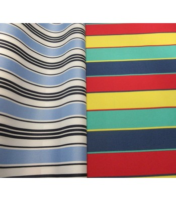 P53 PU Coated Polyester (Stripes)