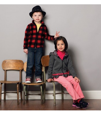 Pattern 6782 Chidrens Tops and Jackets