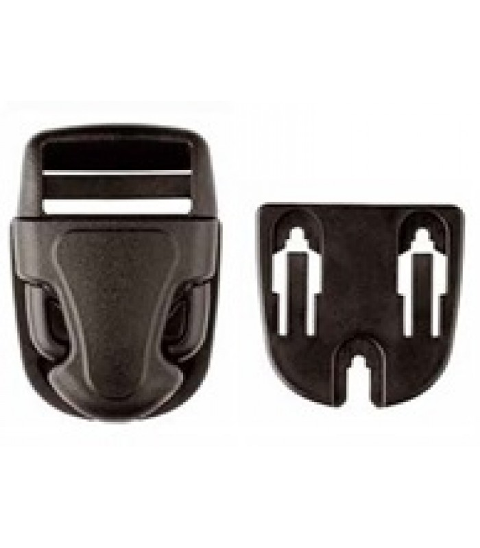SM40 Surface Mounted Side Release Buckle 40mm
