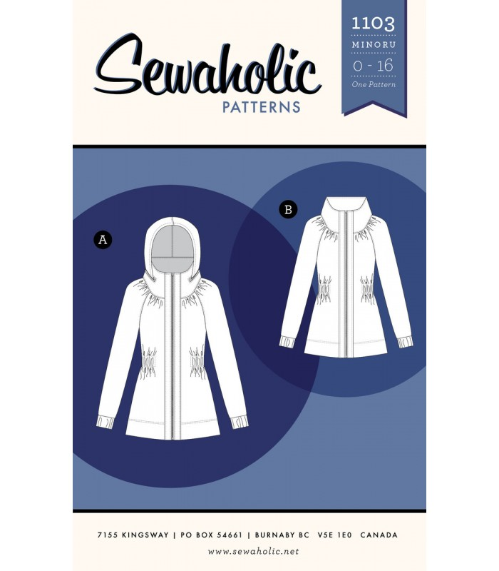 Pattern 1103  Women's  Minoru jacket