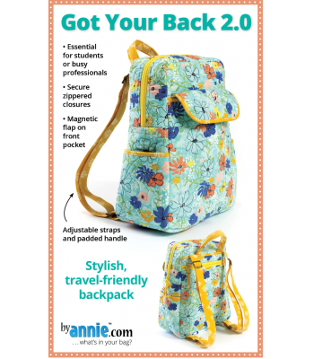 Pattern Got Your Back Backpack