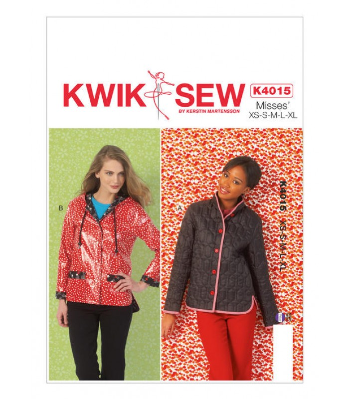 Pattern K4015 ladies jackets