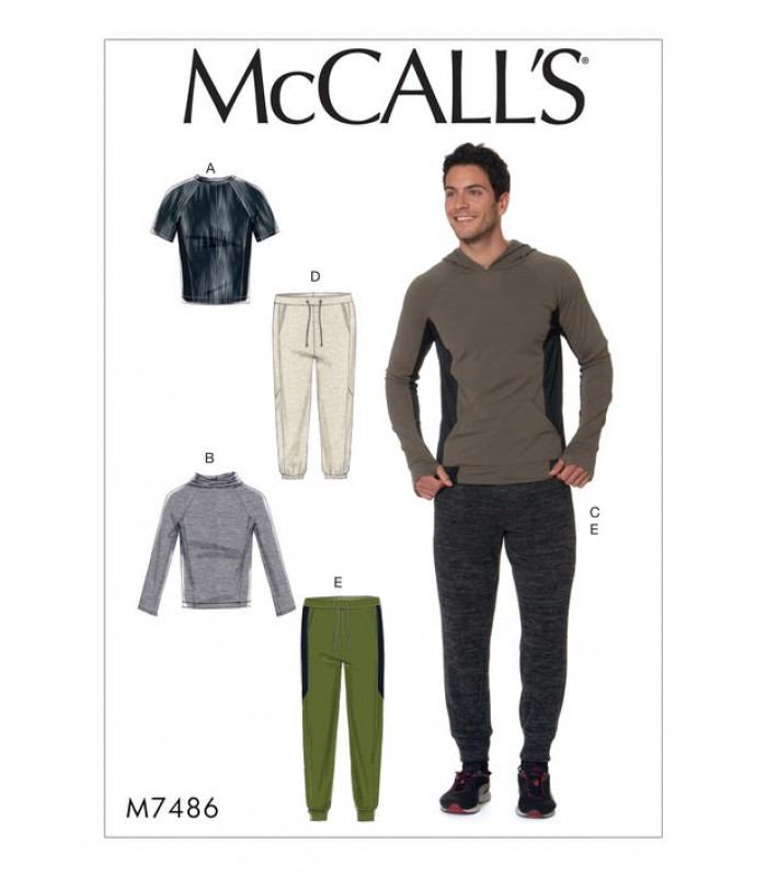 Pattern M7486 Men's Tops and pants