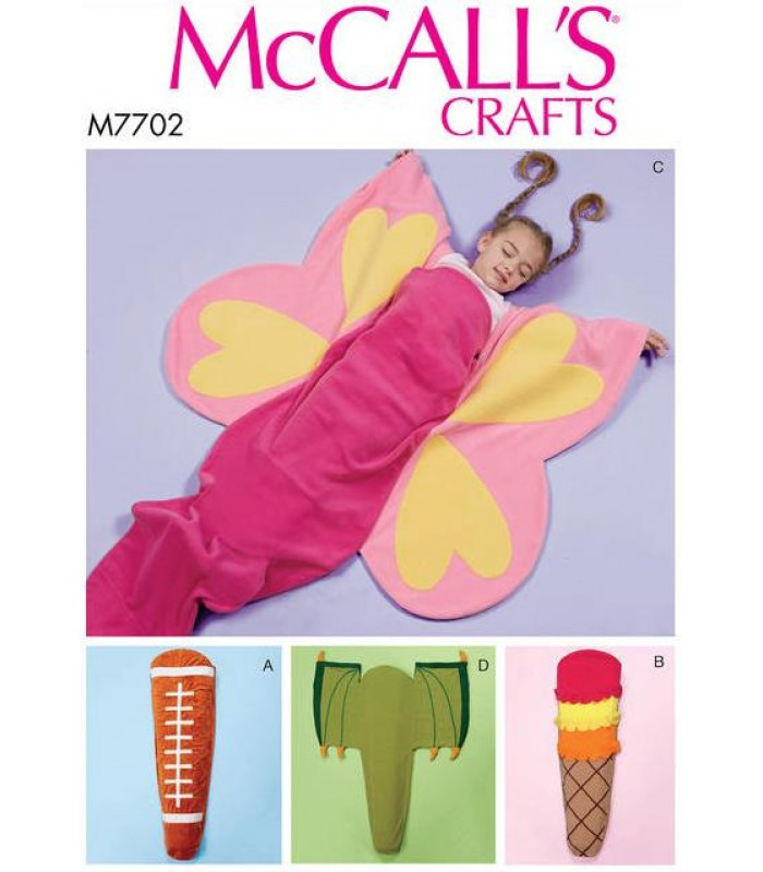 Pattern M7702 Child's Novelty Blanket