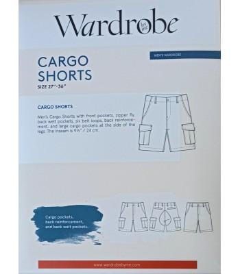 Pattern Cargo Shorts