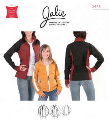 Pattern J2679 Women's and Girl's Jacket