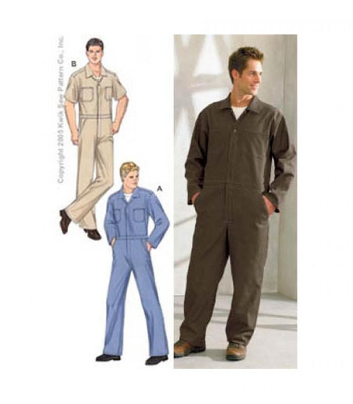 Pattern K3389 Men's overalls