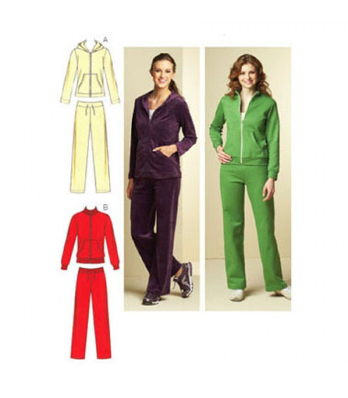 Pattern 3678 ladies tracksuit