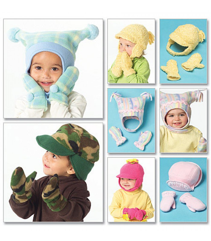 Pattern 5253 Toddler's hats