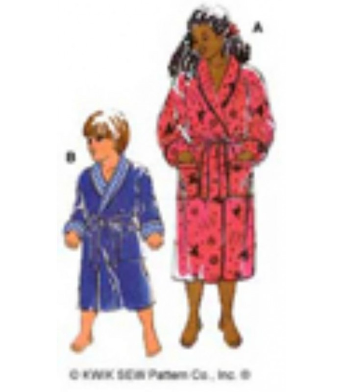 Pattern K2654 Unisex Dressing Gowns