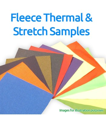 Fleece, Thermal and Stretch Fabrics Samples Pack