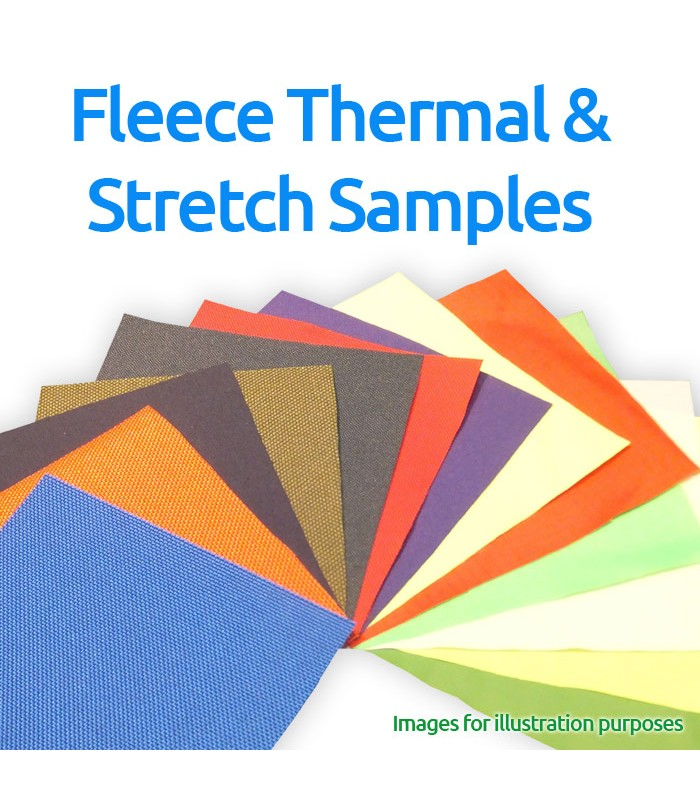 Fleece, Thermal and Stretch Fabrics Sample Pack