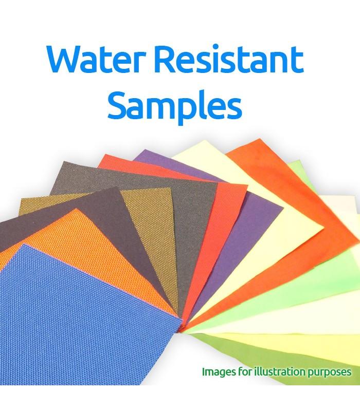 Water Resistant Fabrics SamplesPack