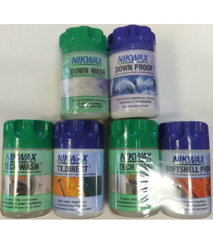 Nikwax Wash and Proofer Packs