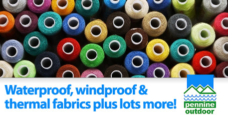Waterproof, windproof and thermal fabrics plus lots more
